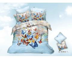 Постельное белье 5D дизайн  Бабочки
