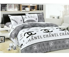 Постельное белье Шанель  1,5 спальное арт.1402