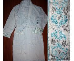 Махровый халат Блюмарин Голубой