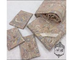 Комплект постельного белья  с одеялом Виктория сикрет  вискоза