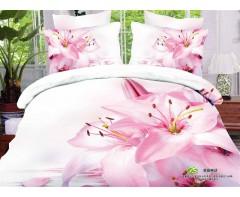 Постельное белье 5D дизайн  Цветение