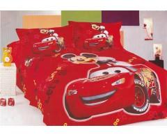 Детское постельное белье Тачки 3D дизайн