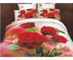 Постельное белье 3D Букет роз