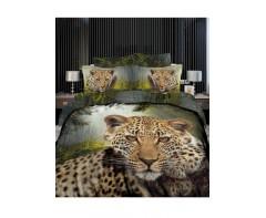 Постельное белье 3 D эффект Леопард