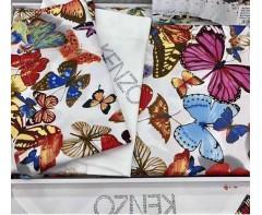 """Комплект постельного белья Кензо """"Бабочки"""" евро"""