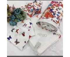 Комплект постельного белья   Бабочки с одеялом