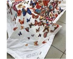 Облегченное одеяло Кензо Бабочки 1,5 спальное