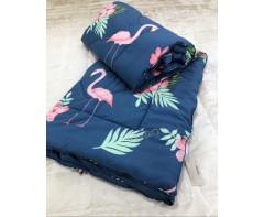 """Теплое одеяло Кензо """"Фламинго"""""""