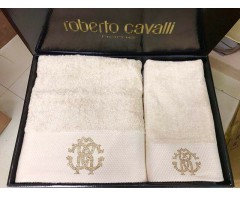 Наборы махровых полотенец Роберто Кавалли