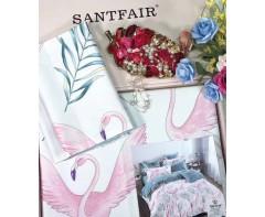 """Комплект постельного белья Santfair """"Фламинго"""""""