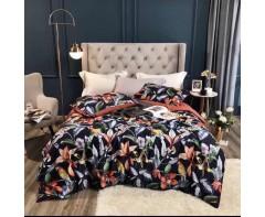 Комплект постельного белья с попугаями