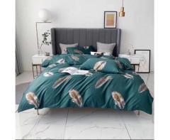Комплект постельного белья  с перьями Maiashi