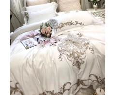 Комплеки постелього белья Лакшери с вышивкой