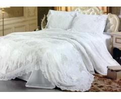 Постельное белье Блюмарин Blumarine со стразами Белый