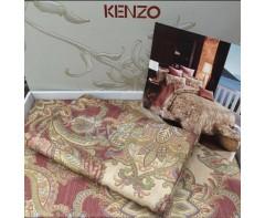 Роскошный комплект постельного белья  Kenzo Кензо со стразами арт.1839
