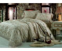 Комплект постельного белья Блюмарин Blumarine со стразами зеленый