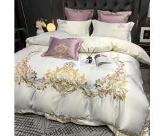 Эксклюзивный комплект постельного белья с вышивкой