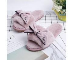 Тапочки Love розовые,  размер 35-36