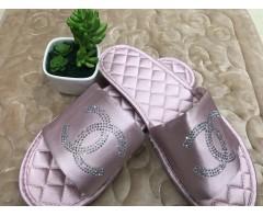 Тапочки Шанель розовые 37-38 размер