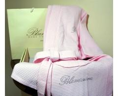 Вафельный Халат Блюмарин Blumarine  розовый