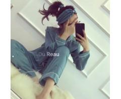 Комплект пижам VISCONTI & DU REAU Бирюзовый