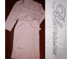 Махровый халат Блюмарин Нежно-розовый