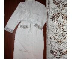 Махровый халат Блюмарин Белый